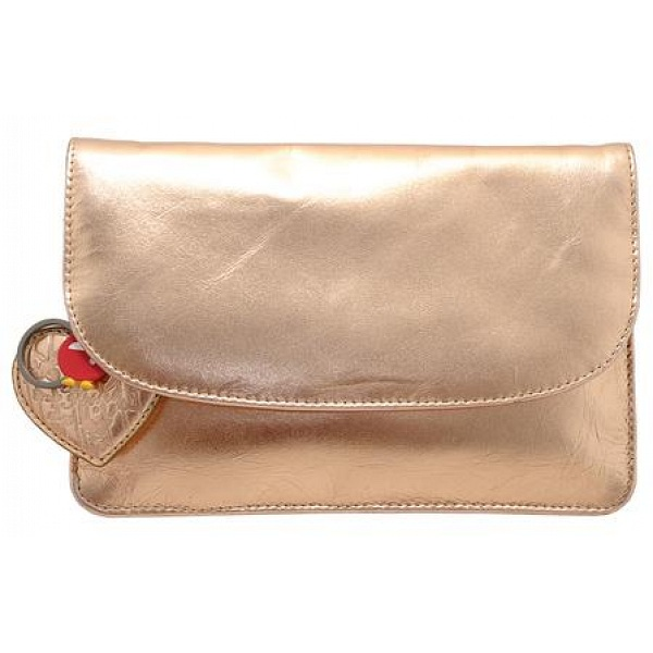 d55efae77ca Yoshi Hampstead Flap Over Leather Clutch Bag / Evening Bag