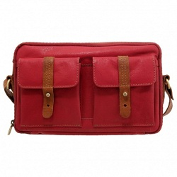 Yoshi Hedren Leather Across Body Bag