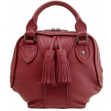 Yoshi Hemingway Grab Bag with Tassel Detail / Leather Handbag