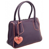 Yoshi Huntington Medium Leather Grab Bag / Handbag