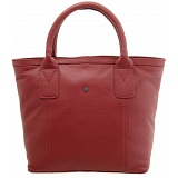 Yoshi Kavner Bag / Tote Shape Leather Grab Bag
