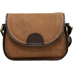 Yoshi Kendall Leather Flap Over Shoulder Bag / Handbag