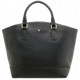 Yoshi Kingsley Leather Zip Top Tote Bag / Grab Bag
