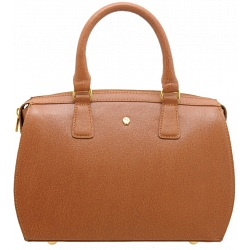 Yoshi Margot Zip Top Leather Grab Bag YB83