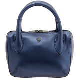 Yoshi Marylebone Grab Bag / Dual Zip Around Mini Leather Handbag