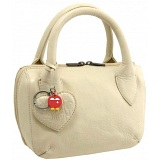 Yoshi Marylebone Dual Zip Around Mini Leather Grab Bag / Handbag