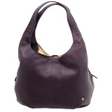 Yoshi Meehan Medium Size Leather Slouched Shoulder Bag / Handbag
