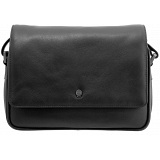 Yoshi Richmond Flap Over Bag / Leather Shoulder Bag