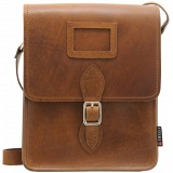 Yoshi Rushmore Leather Across Body Bag / Satchel