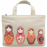 Yoshi Hampton Russian Doll Limited Edition Leather Grab Bag / Handbag