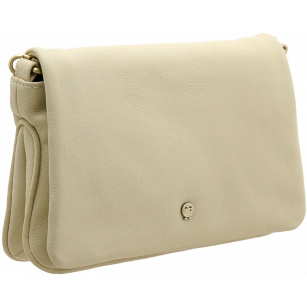 Yoshi Suzy Leather Clutch Bag with Detachable Shoulder Strap