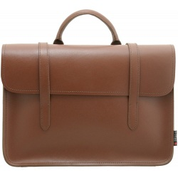 Yoshi Music Bag / Vintage Style Sheet Music Leather Briefcase