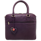 Yoshi Lichfield Wilton Ladies Leather Business Netbook / iPad Bag