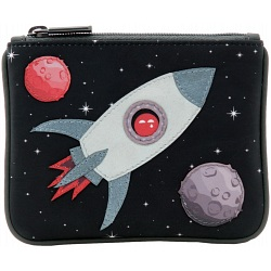 Yoshi Fly Me To The Moon Leather Coin Purse Y1723-SP