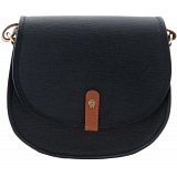 Yoshi Janssen Cross-Grain Leather Cartridge Bag / Shoulder Bag