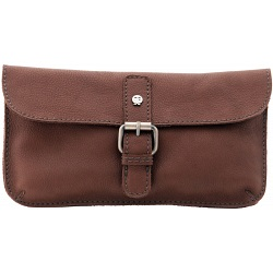 Yoshi Reynolds Natural Leather Clutch Bag / Mini Across Body Bag