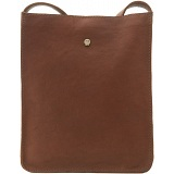 Yoshi Ruffalo Natural Leather Across Body Bag