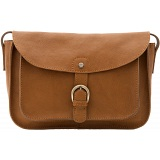 Yoshi Jackman Natural Leather Cartridge Bag / Shoulder Bag