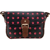 Yoshi Kitsch Canvas Cartridge Bag with Leather Trim (Yoshi Print)