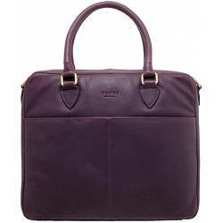 Yoshi Wilton Ladies Leather Business Netbook / iPad Bag