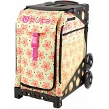 ZUCA Sport Flowerz Sit On Rolling Kit Bag (FRAME &amp; INSERT)