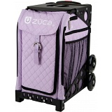 ZUCA Sport Quilted Lilac Sit On Rolling Kit Bag (FRAME & INSERT)
