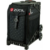 ZUCA Sport Mystic Quilted Black Sit On Rolling Kit Bag (FRAME & INSERT)