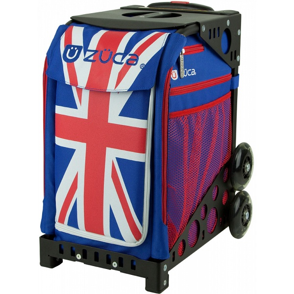 Zuca Sport Union Jack Sit On Rolling Kit Bag Frame Amp Insert